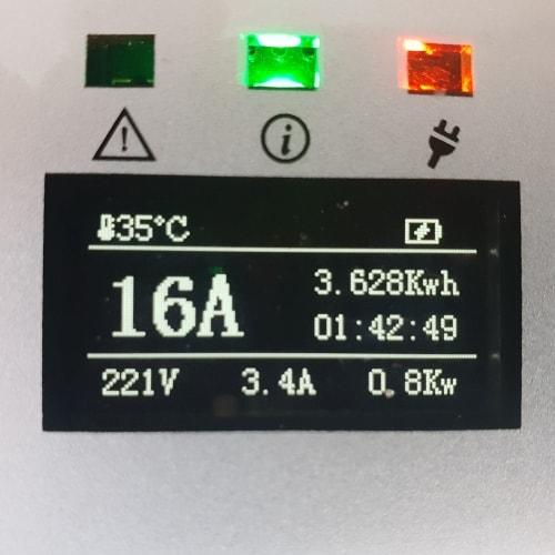 3-EV EVSE Type2 (max. 16A) Καλώδιο EV